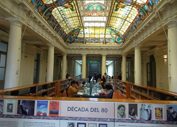 Biblioteca Mario Vargas Llosa. Lima. Desamparados. Foto R.Puig