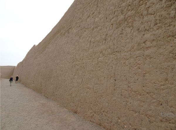 Muro de ChanChan. Trujillo. Foto R.Puig