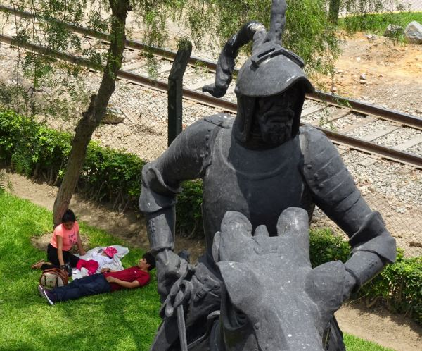 Picnic con Pizarro. Foto R.Puig