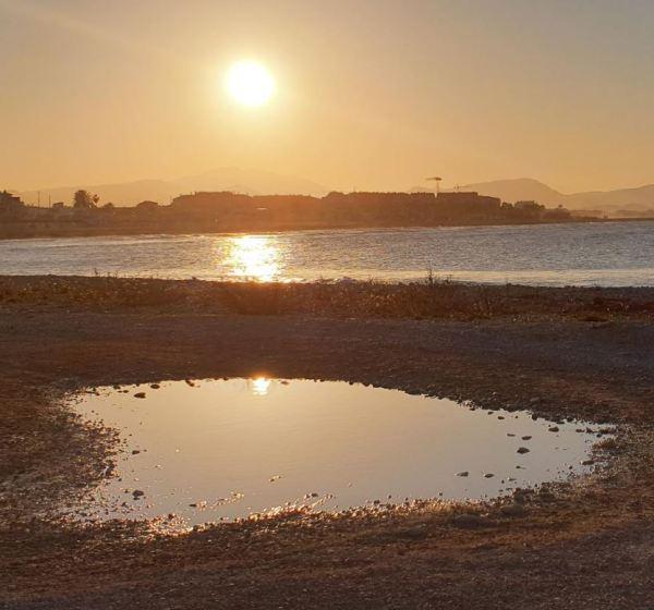 El sol cautivo efímero. Foto R.Puig