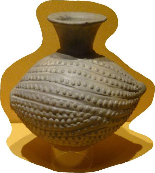 Huaco alusivo al maíz.