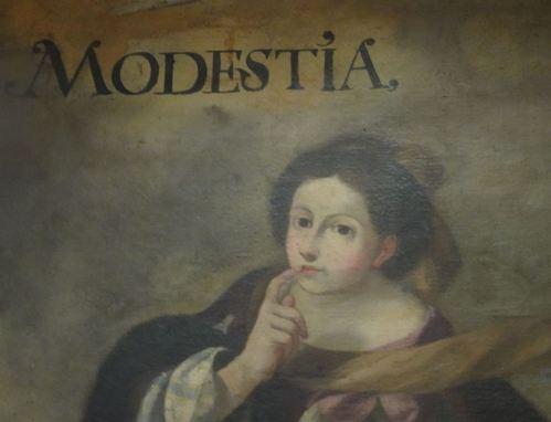 Imagen de la Modestia. San Pedro en Lima. Foto R.Puig