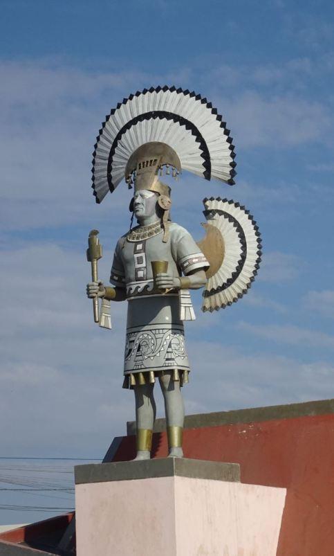 Lambayeque. Monumento al Señor de Sipán. 13 febrero 2019. Foto R.Puig