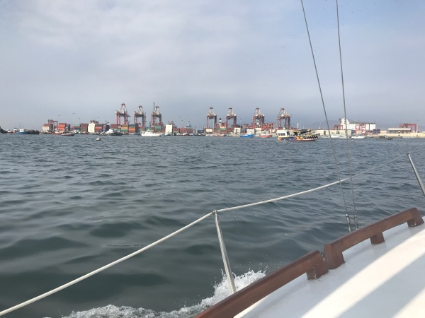 Llegando a puerto, Foto Marie Puig
