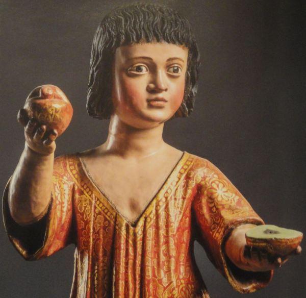 Niño Jesús de Huanca. Anónimo. s.XVII. Detalle. San Pedro de Lima.