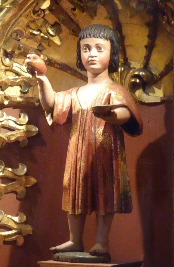Niño Jesús de Huanca. Anónimo. s.XVII. San Pedro de Lima. Foto R.Puig