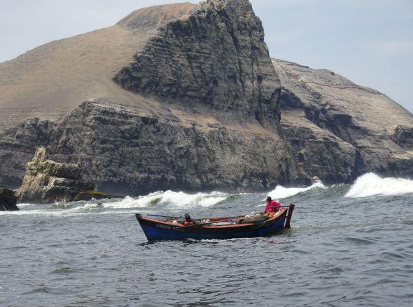 Pescadores en el canal. Foto R.Puig