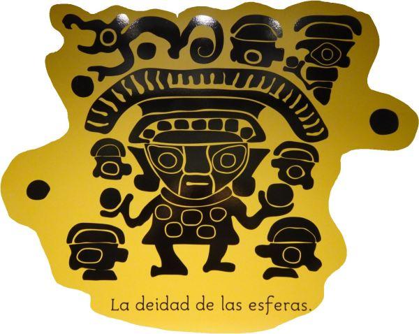 Túcume. La deidad de las esferas. Museo del sitio.