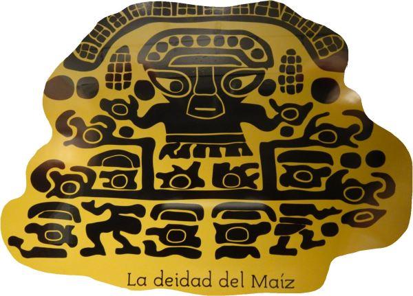 Túcume. La deidad del maiz. Museo del sitio.