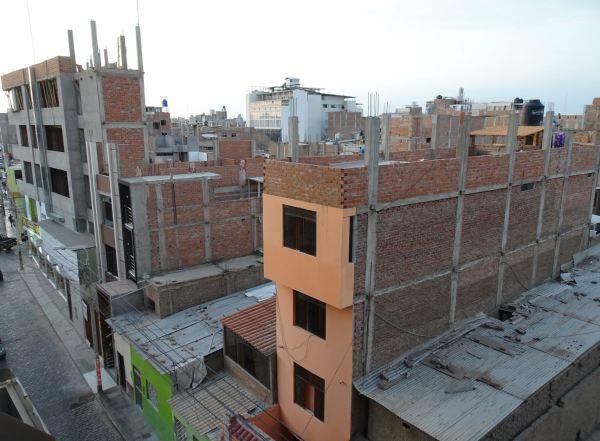 Chiclayo 13.02.2019. Vista desde el hotel. Foto R.Puig