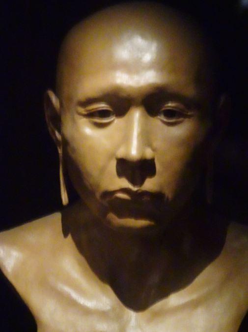 El Señor de Sicán. Reconstrucción facial. Museo Nacional de Sicán. Lambayeque. Perú