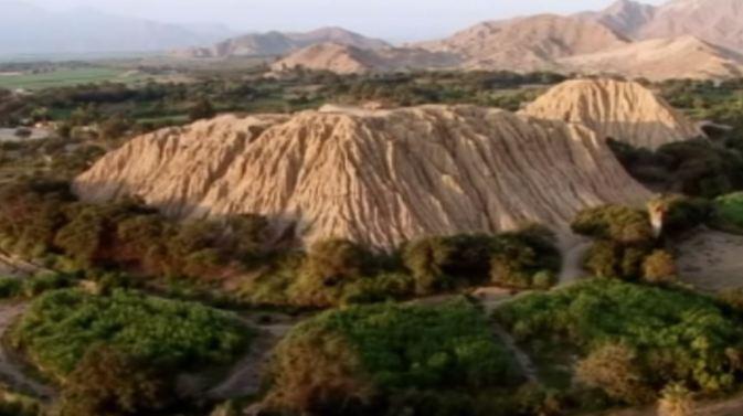 Huaca Rajada. Sipán. Lambayeque.