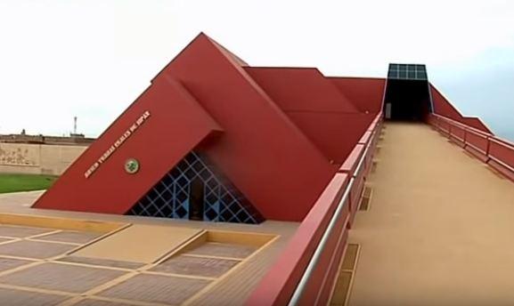Lambayeque. Museo Tumbas Reales de Sipán.