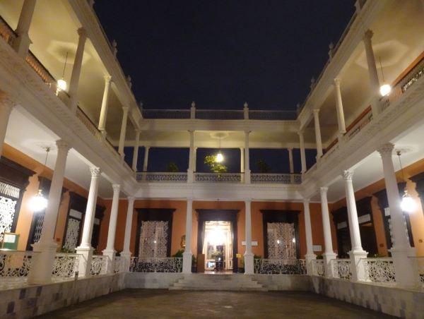 Patio del Palacio Iturregui. Trujillo. Foto R.Puig