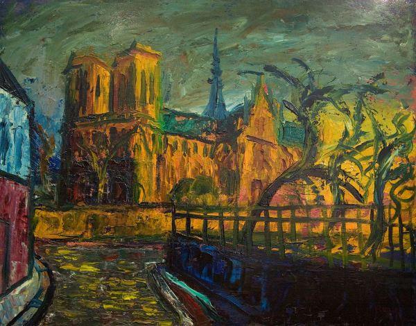 Virxilio Blanco. Notre-Dame-de-Paris. hacia 1930.