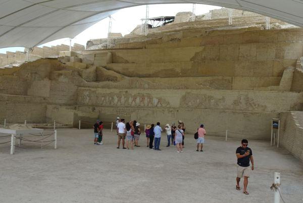 Ante el Templo Moche. Cao Viejo