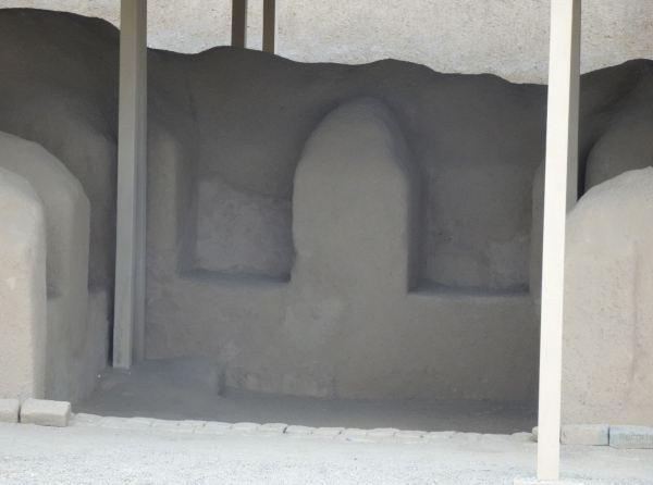 Chan Chan. Templete con hornacinas en Nik An. Foto R.Puig