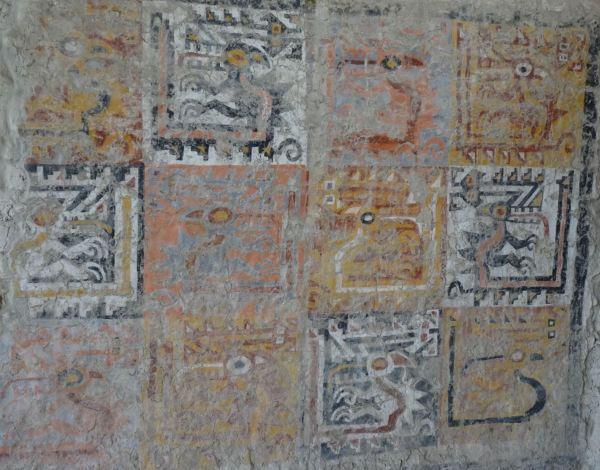 Frescos de aves. Cao Viejo. Foto R.Puig