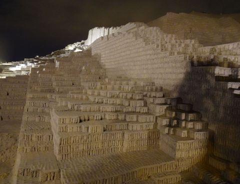 Huaca Pucllana. Foto R.Puig