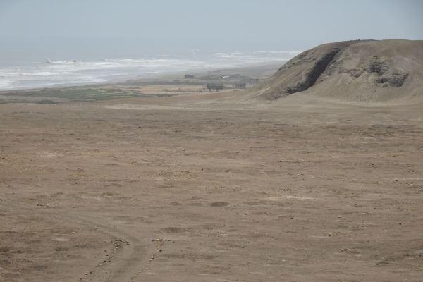 La Huaca rajada. Complejo El Brujo. Foto R.Puig