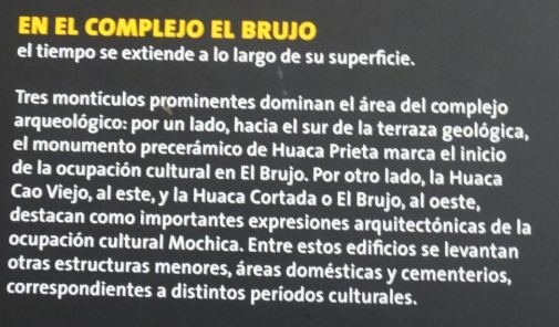 Las tres huacas de El Brujo. Museo Cao