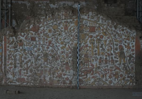 Mural de los mitos.Huaca de la Luna. Foto R.Puig