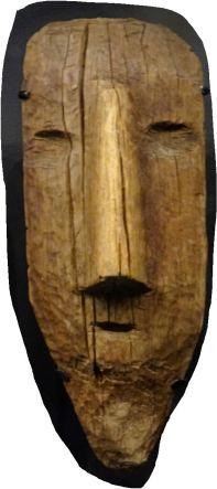 Falsa cabeza mortuoria (ss.VII a XII d.C.). Museo del sitio de Pachacamac.