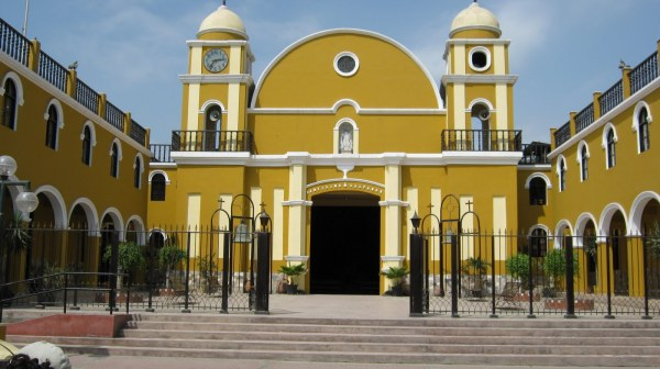 Iglesia del Salvador. Pachacamac. Foto Mochileaperu