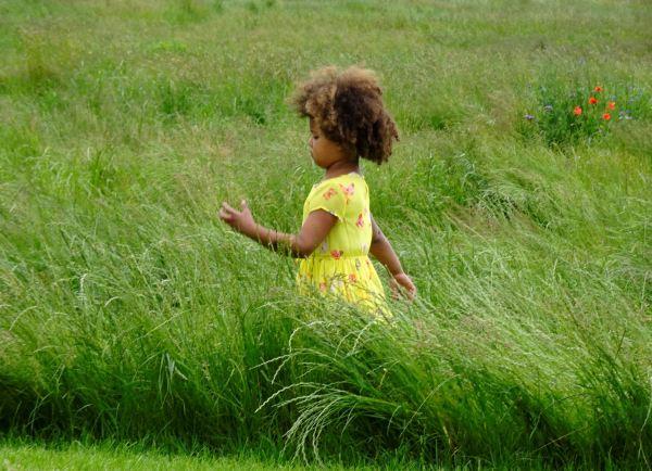 Midsommar es para los niños. Foto R.Puig