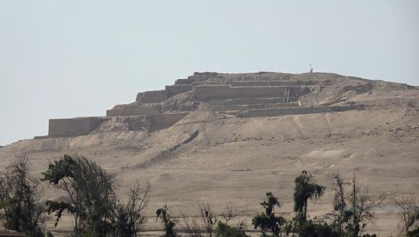 Pachacamac. El templo del sol. Foto R.Puig