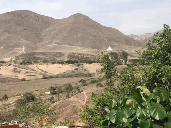 Panorama desde casa de Pepe. Foto Marie Puig