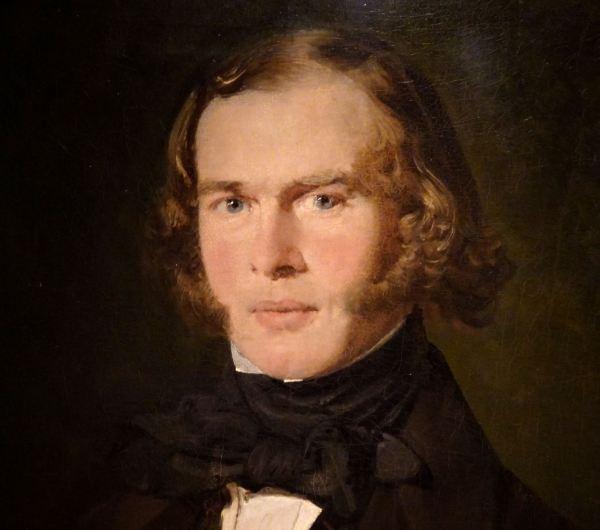 Christian Albrecht Jensen. El arquitecto Konstantin Andreevich Thon, 1840.Museo Nacional de Arte de Estocolmo.