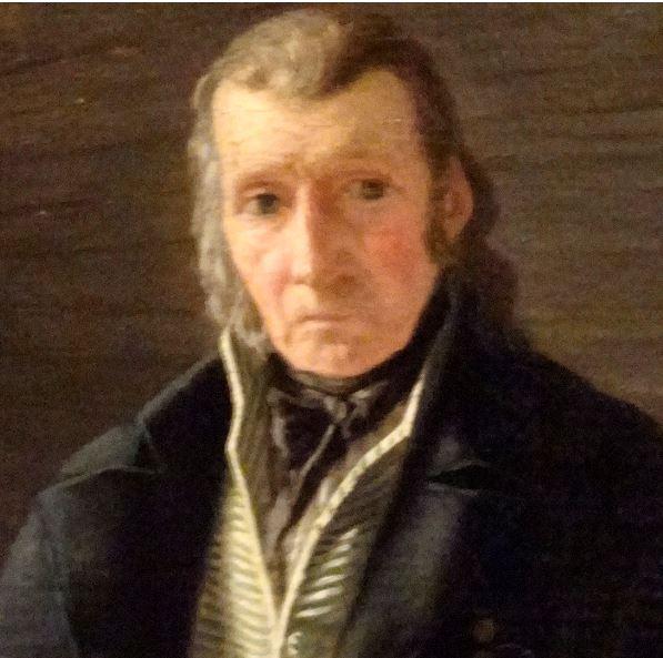 Martinus Rorbye. Viejo marino sentado en un cañón, 1826, detalle. M.N. Estocolmo. Foto R.Puig