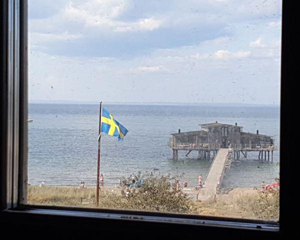 Båstad. Desde la ventana del hotel. Foto R.Puig
