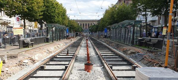 Cambio de vías. Foto R.Puig