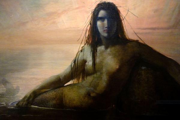 Elisabet Jerichau-Baumann. Sirena.1847. Col.Privada. Foto R.Puig