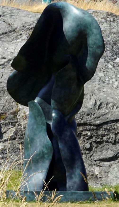 Helaine Blumenfeld, USA, Ascensión, 2018, bronce. Foto R.Puig