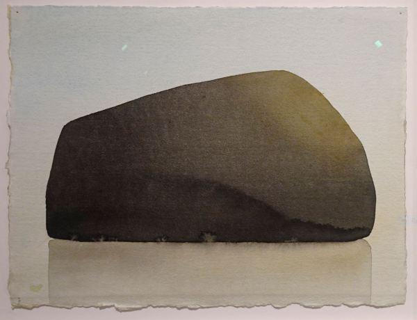 Mats Gustafson. Roca. 2003. Museo Nórdico de la Acuarela. Foto R.Puig