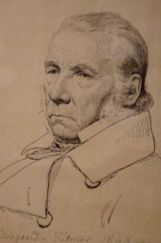 Peter Christian Skovgaard. El maestro de forja Hermann Ernst Freund,1844. M.N.Copenhagen. Foto R.Puig.