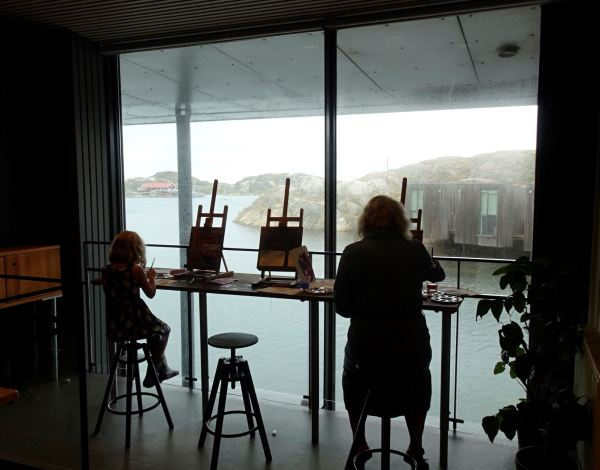 Siempre se puede aprender a pintar. Museo Nórdico de la Acuarela. Foto R.Puig
