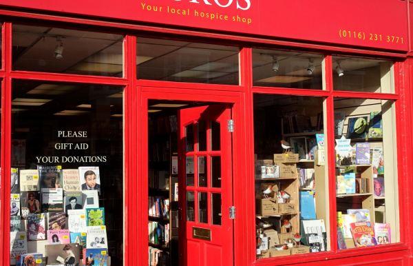 Charity bookshop. Foto R.Puig