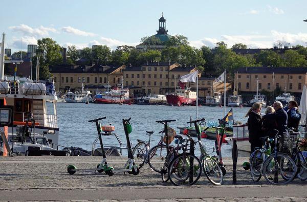 Strandvägen, Estocolmo. Foto R.Puig