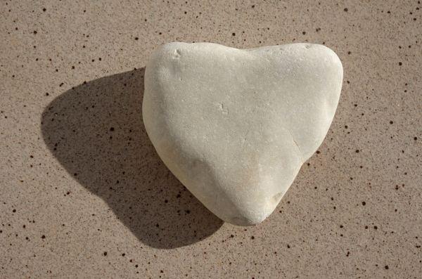 Corazón de playa. Foto R.Puig