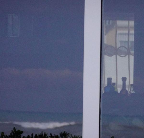 El mar se despide en mi ventana. Foto R.Puig