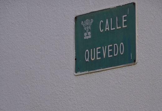 Calle Quevedo, Vergel (Alicante)