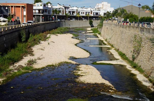 El cauce del río Girona. Els Poblets. Foto R.Puig
