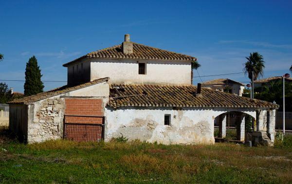 Estado del antiguo Riurau. Els Poblets. Foto R.Puig