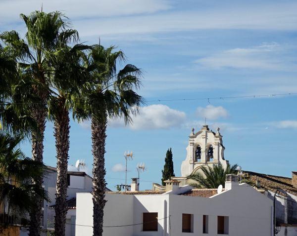 La espadaña de Els Salvador. Els Poblets. Foto R.Puig