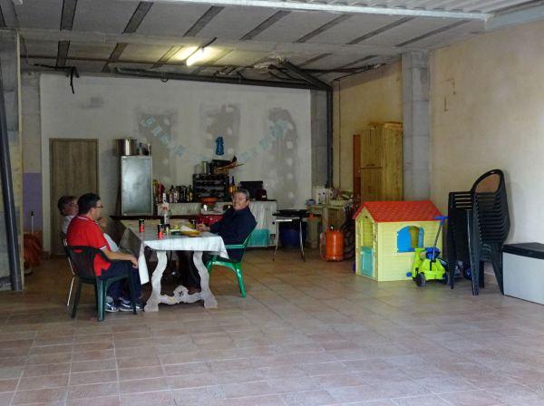 La sala de estar de Jaime. Els Poblets. Foto R.Puig