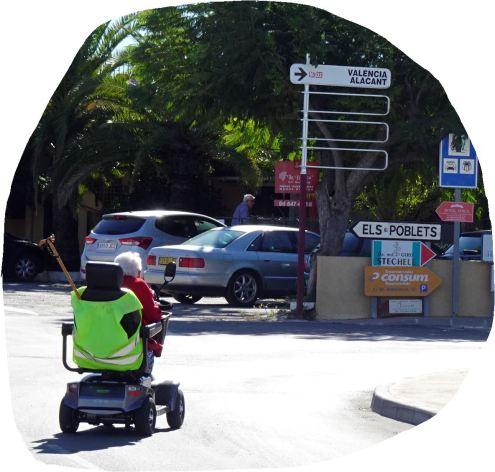 Lugar para jubilarse. Els Poblets. Foto R.Puig